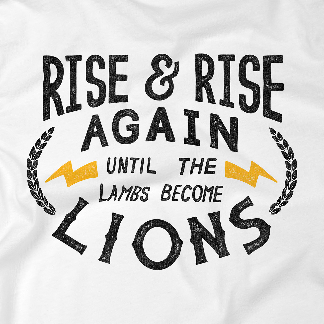 rise and rise again tshirt zoom camiseta