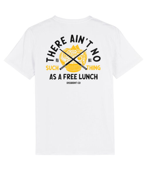 Camiseta Free Lunch Dissident Co