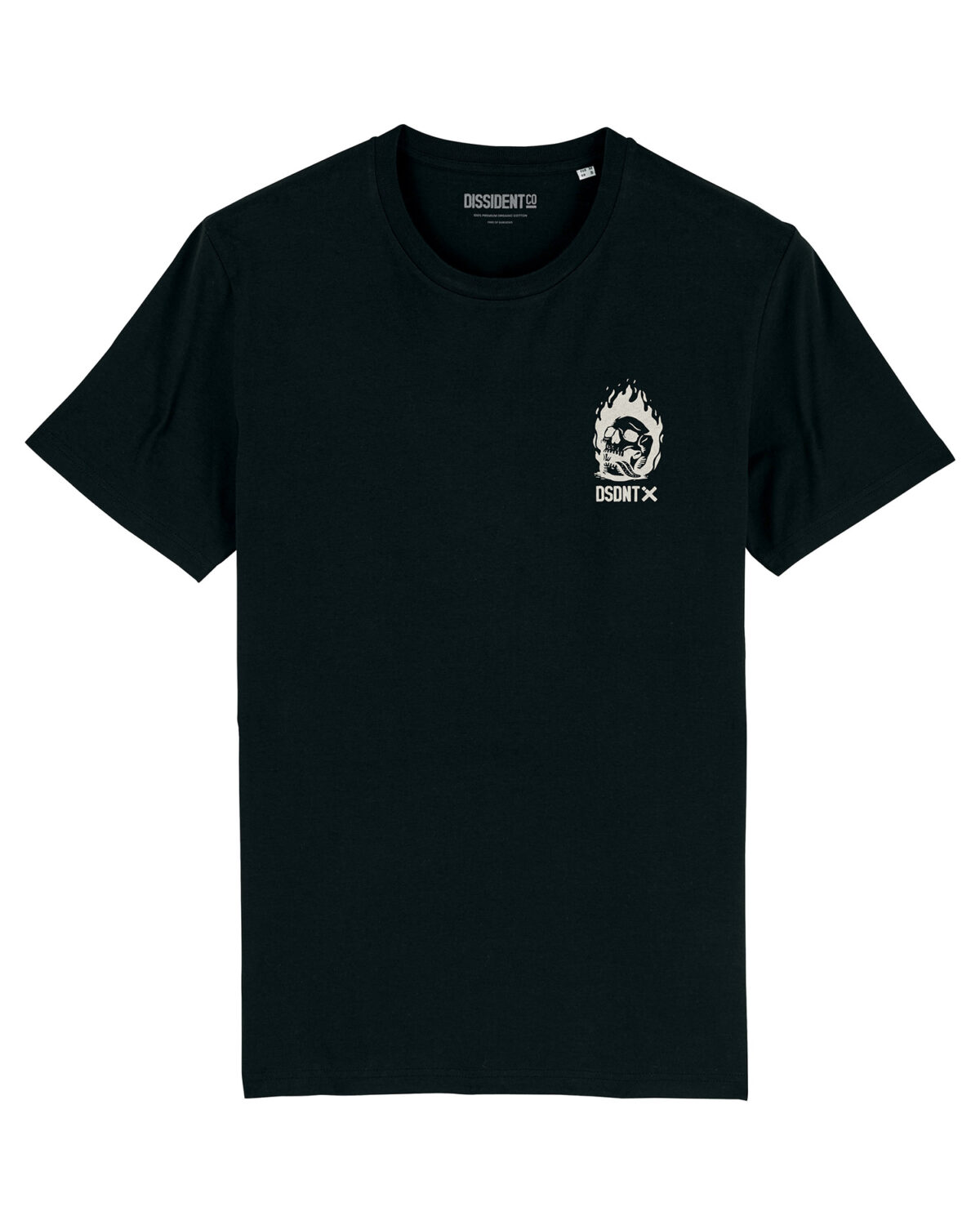 Camiseta Give me Liberty or give me death Dissident Co Front
