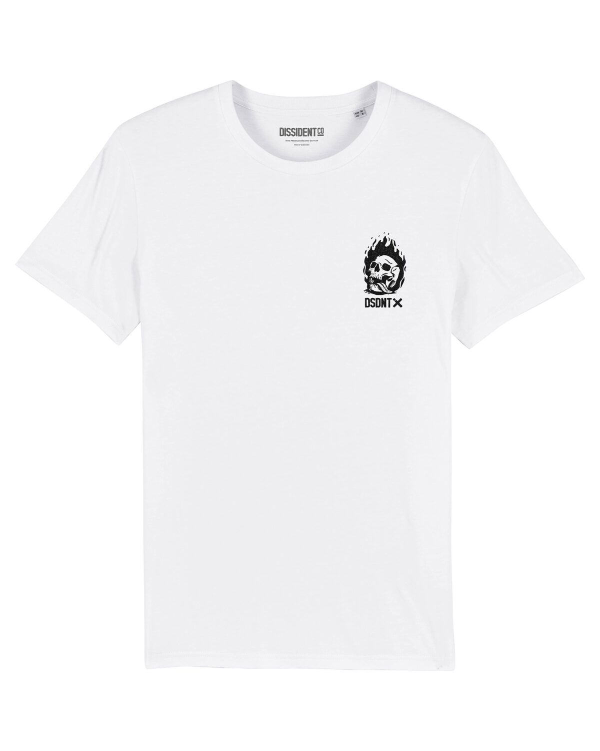 Camiseta Give me Liberty or give me death Dissident Co White Front