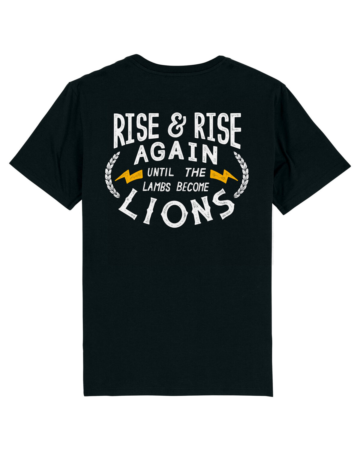 Camiseta Rise & Rise Again Black Dissident Co