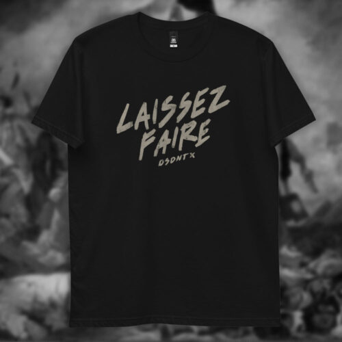 Camiseta laissez faire Dissident Co