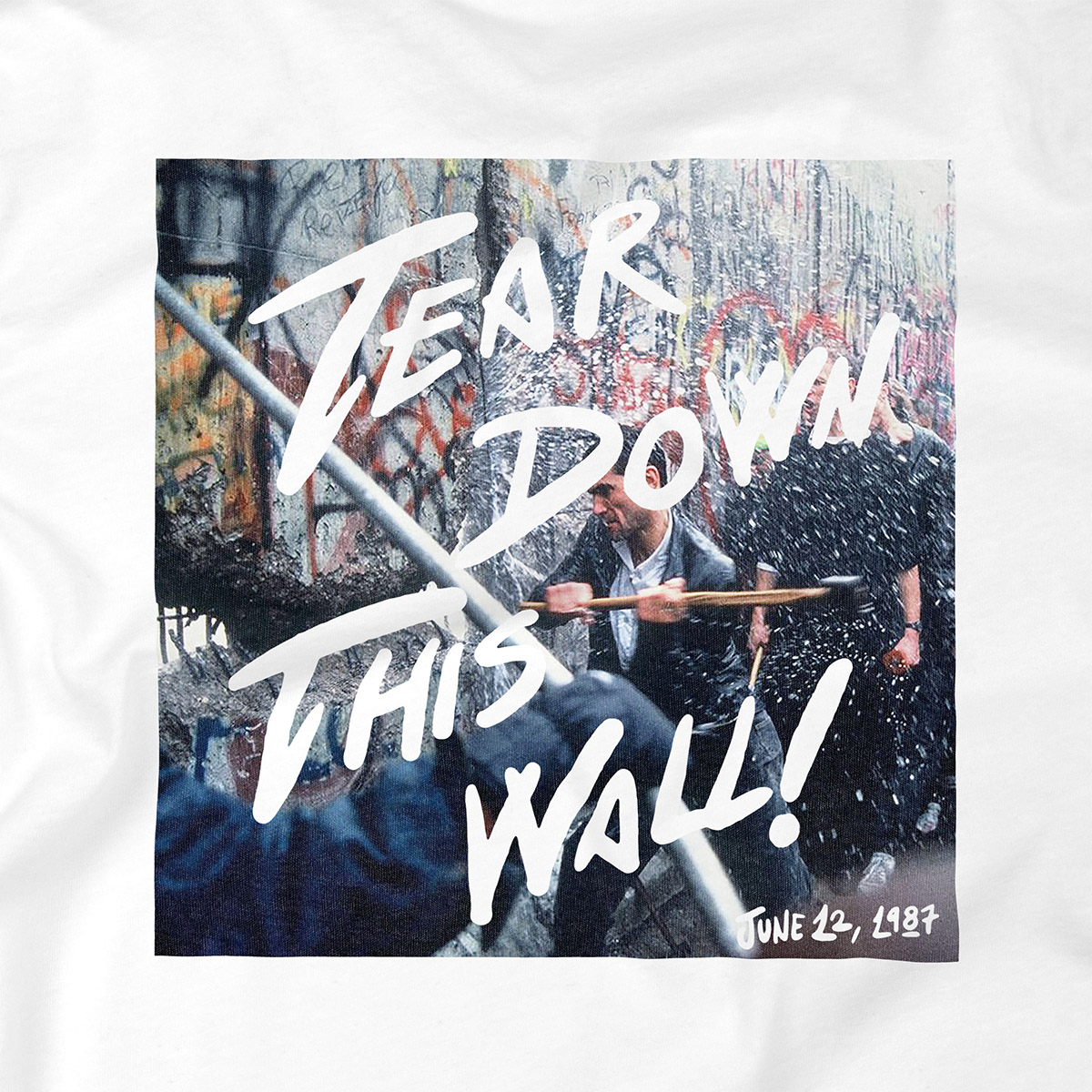 Zoom camiseta Tear Down This Wall Dissident Co